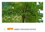 ABBEY ORCHARD ESTATE - UK Landscape Award