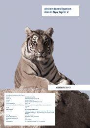 Aktieindexobligation Asiens Nya Tigrar 2 - Mangold Fondkommission