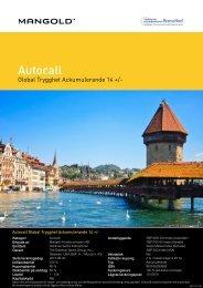 Autocall - Mangold Fondkommission