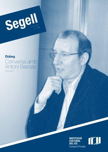 Conversa amb Antoni Bassas - CIC