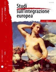 Numero 3 (settembre - dicembre) - Studisullintegrazioneeuropea.eu