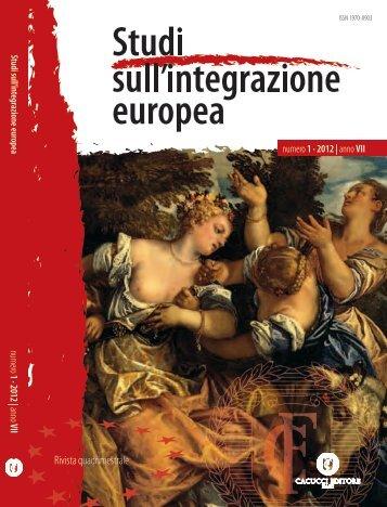 1/2012 - Società Italiana di Diritto Internazionale