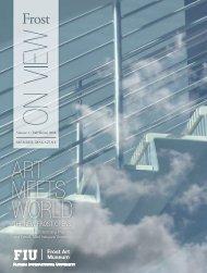 art meets world - The Patricia & Phillip Frost Art Museum - Florida ...