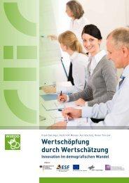 Wertschöpfung durch Wertschätzung - Universität Bamberg