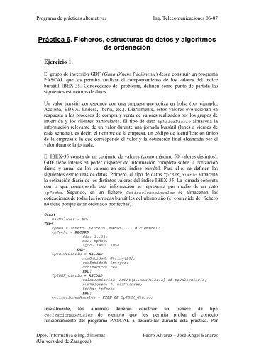 Práctica 6 - Grupo de sistemas de información avanzados (IAAA)