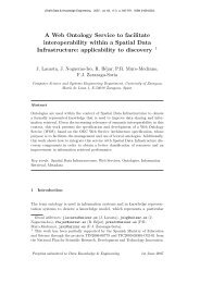 A Web Ontology Service to facilitate interoperability within a Spatial ...