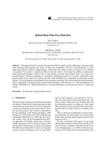 thesis on real time face recognition Face recognition: an introduction  a discovery that enabled reliable real-time automated face recognition  i can guide you in your thesis project.