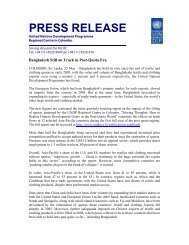PRESS RELEASE - United Nations in Bangladesh