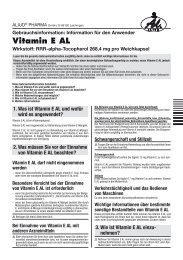 Vitamin E AL - Aliud Pharma GmbH & Co. KG