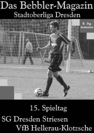 Das Bebbler-Magazin - 15. Spieltag - 2014/2015