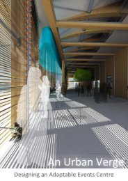 An Urban Verge: Designing an Adaptable Events ... - Research Bank
