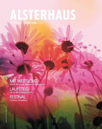 Alsterhaus Katalog Frühjahr / Sommer 2011