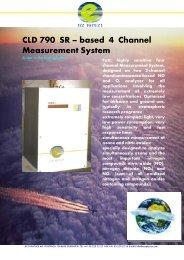 CLD 790 SR – based 4 Channel Measurement System