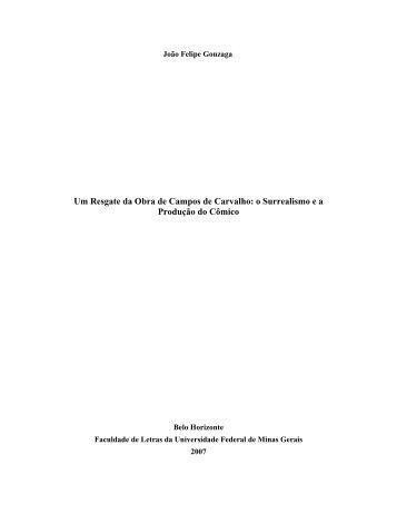 CAPÍTULO II - Biblioteca Digital de Teses e Dissertações da UFMG