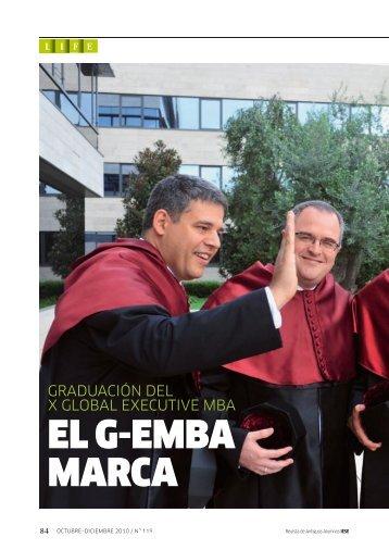 EL G-EMBA MARCA - revista iese.