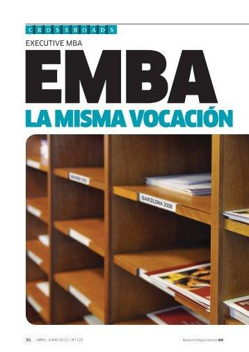 LA MISMA VOCACIóN - revista iese.