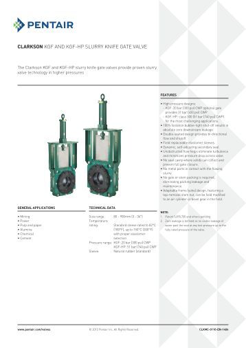 Flowrox Wafer Knife Gate Valve Lkw