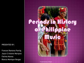 History of Philippine Music - Philippine Culture: Overview Culture
