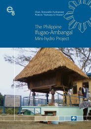 Ifugao-Ambangal Mini-hydro Project - Global Sustainable Electricity ...