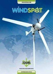 Características del aerogenerador - Teican