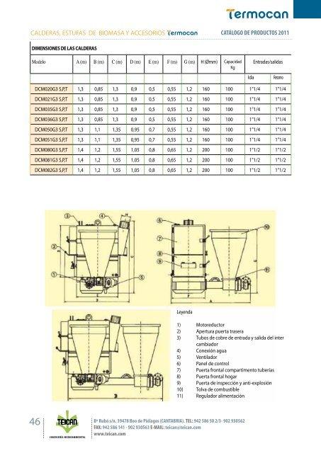 catálogo biomasa - Teican