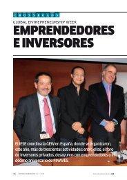EMPRENDEDORES E INVERSORES - revista iese.