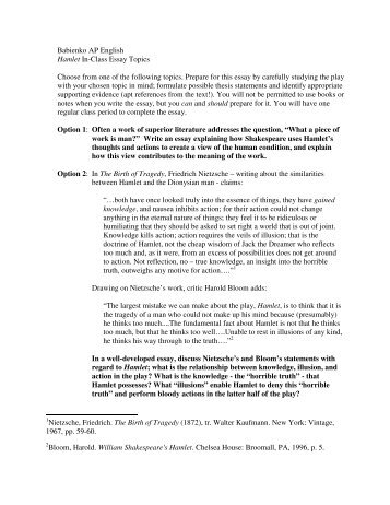 hamlet essay prompts hamlet ap literature essay prompt act two by  administrative secretary resume sample editing essays worksheets sample rhetorical essays