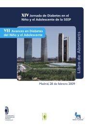 XIV Jornada de Diabetes del Niño y Adolescente de la SEEP y VII ...