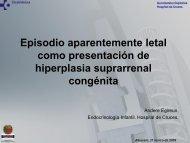 Episodio aparentemente letal como presentación de hiperplasia ...