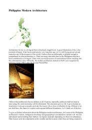 Philippine Modern Architecture - AboutPhilippines.ph