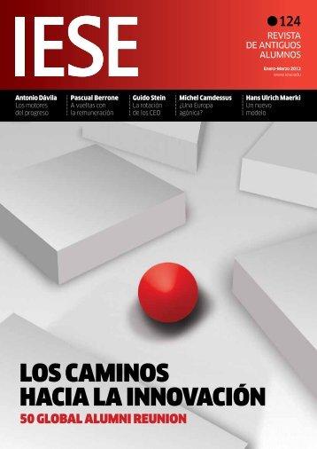 LOS CAMINOS HACIA LA INNOVACIÓN - revista iese.