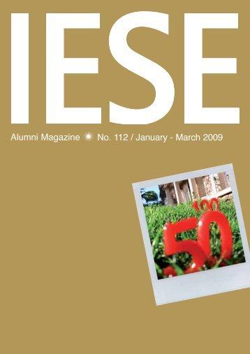Alumni Magazine - revista iese.