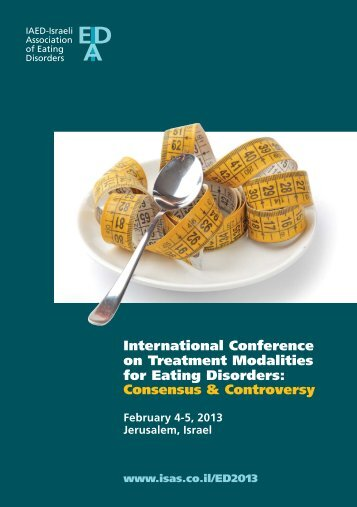International Conference on Treatment Modalities for Eating - ISAS ...