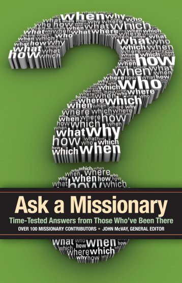 Ask a Missionary - Catch The Fire