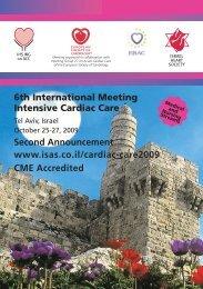6th International Meeting Intensive Cardiac Care Second ...