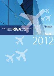 Gadagrāmata 2012: Lejuplādēt - Riga International Airport