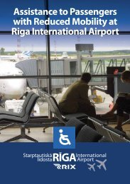Assistance to Passengers with Reduced Mobility at Riga ...
