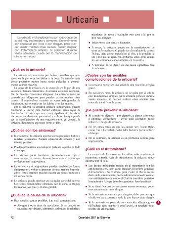 Urticaria - Impcna.com