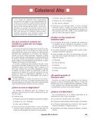 Colesterol Alto - Impcna.com
