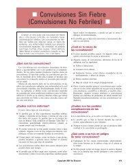Convulsiones Sin Fiebre (Convulsiones No Febriles) - Impcna.com