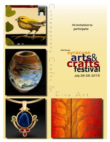 Contemporary Craf ts & Fine Art - Downtown Committee of Syracuse