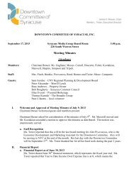 September 17, 2013 Meeting Minutes - Downtown Committee of ...