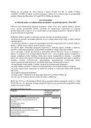 Občina Ig, na podlagi 10. člena Zakona o športu (Uradni list RS, št ...