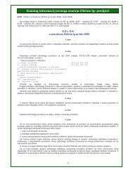 Odlok o proračunu Občine Ig za leto 2000