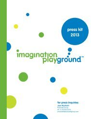 download press kit - Imagination Playground