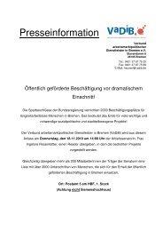 Zum Download hier klicken! - ProJob Bremen gemeinnützige GmbH