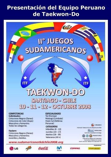 Boletín Sudamericano Chile 2008.pdf - Instituto Peruano de ...