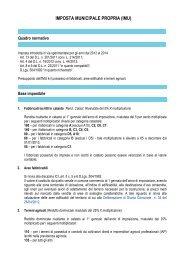 IMPOSTA MUNICIPALE PROPRIA (IMU) - Comune di Voghiera