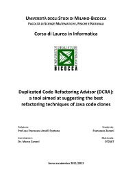6 Duplicated Code Refactoring Advisor (DCRA) - ESSeRE