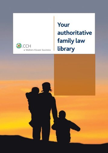 Your authoritative family law library - CCH Australia